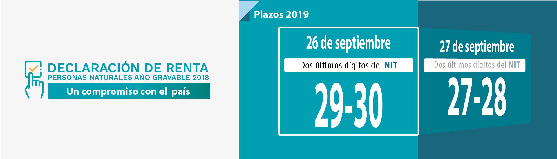 Agencia Tributaria Calendario 2020.Portal Dian Inicio